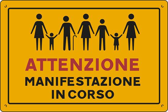 ATTENZIONE MANIFESTAZIONE IN CORSO