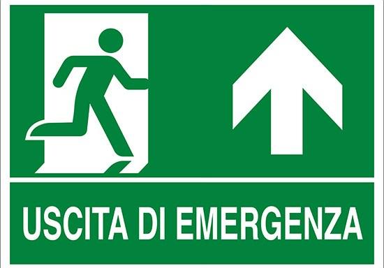 USCITA DI EMERGENZA (in alto)