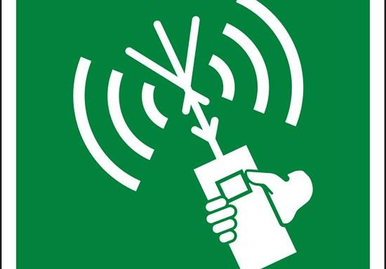 (radiotelefono a due vie VHF – two-way VHF radiotelephone apparatus)