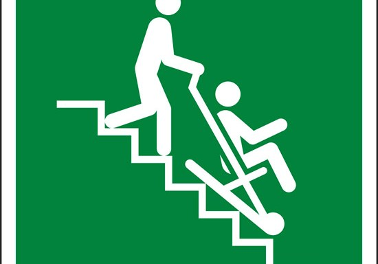 (sedia di evacuazione – evacuation chair)