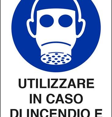 UTILIZZARE IN CASO DI INCENDIO E FUGHE DI GAS