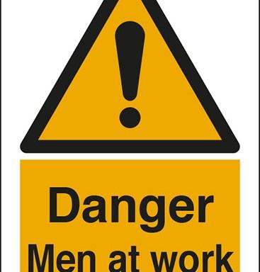 Danger Men at work