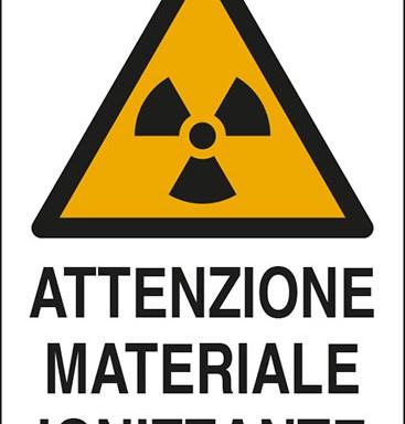 ATTENZIONE MATERIALE IONIZZANTE