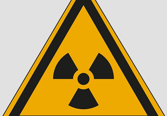 (warning: radioactive material or ionizing radiation)
