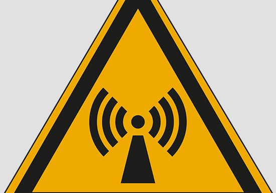 (warning: non-ionizing radiation)