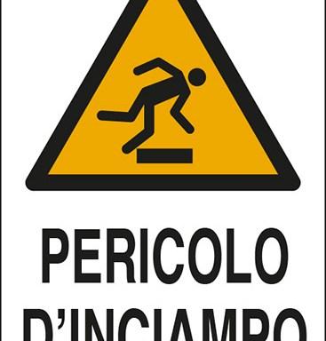 PERICOLO D'INCIAMPO