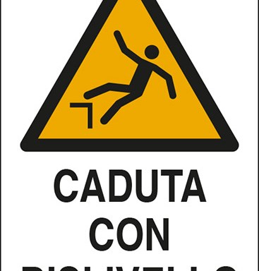 CADUTA CON DISLIVELLO