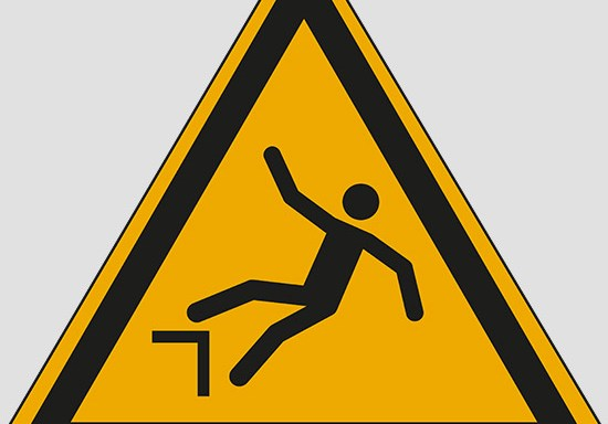 (warning: drop (fall))