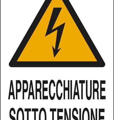 APPARECCHIATURE SOTTO TENSIONE