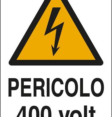 PERICOLO 400 volt
