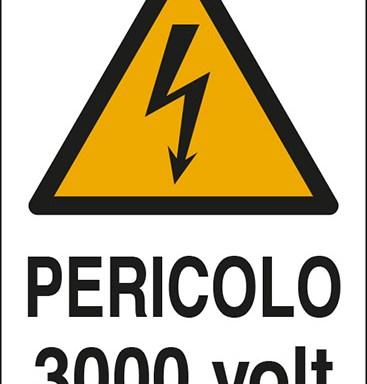 PERICOLO 3000 volt