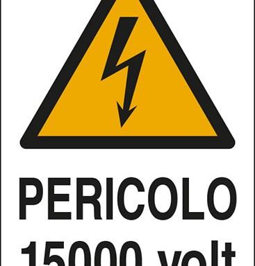 PERICOLO 15000 volt