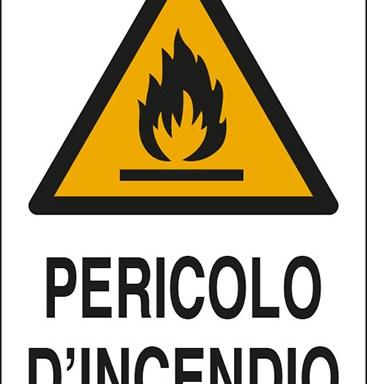 PERICOLO D'INCENDIO