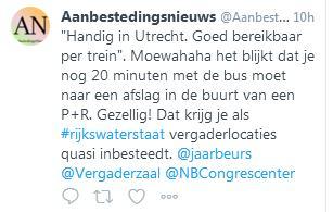 Onvermijdelijk Circulair bij Rijkswaterstaat congres 2019 in Tweets