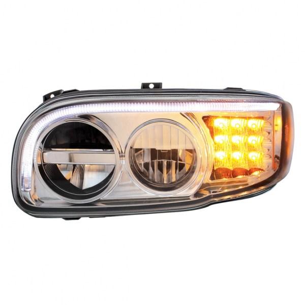 2008 peterbilt 388  389 chrome led headlight with led turn | 99 Peterbilt Wiring Diagram |  |