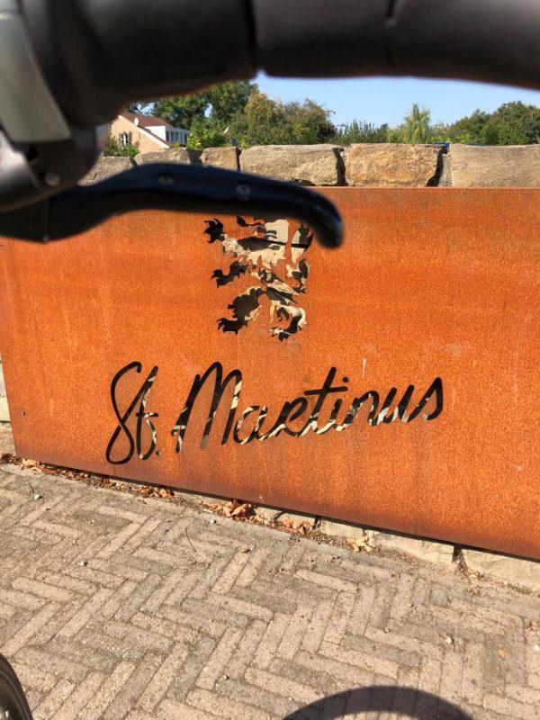 Op de fiets naar Sint Martinus