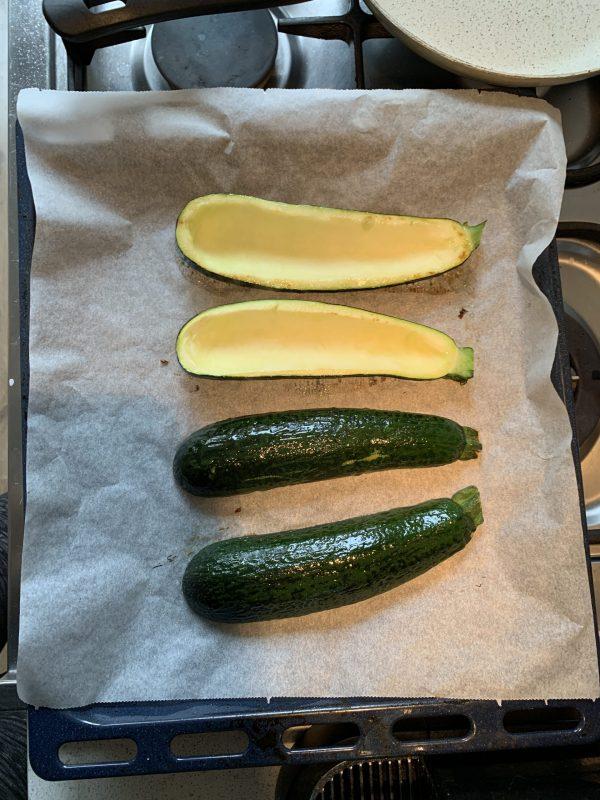 Courgette oven zucchini alla Ligure