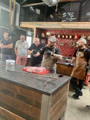 Demo porchetta - Amerikaanse bbq workshop