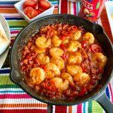 Gamba-chorizo salsa