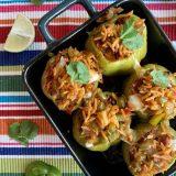 Gevulde sweet chili lime paprika's