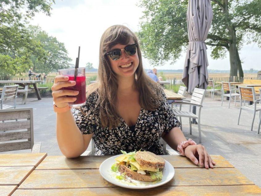 Lunch Heidezicht Beemsterkaas zomertour