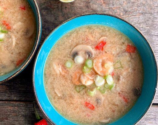 Tom kha kung soep