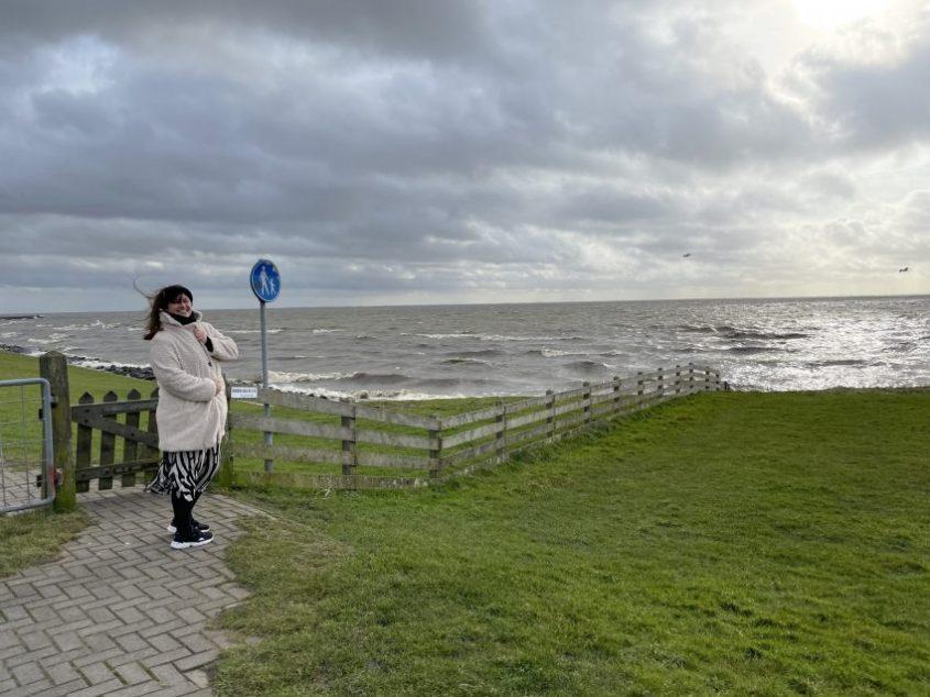 Wandelen langs de kust