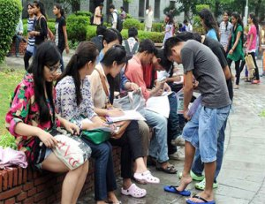 DU Admission Announcement for UG: 2015 -16