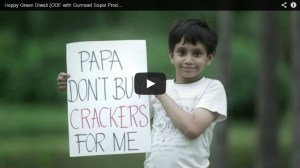 This Diwali… Say No To Crackers…