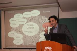 Australian Professor speaks on 'Innovative Teaching Methodologies' at Jamia