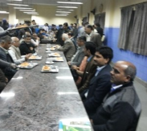 Jamia's Vice-Chancellor interacts with hostellers over dinner