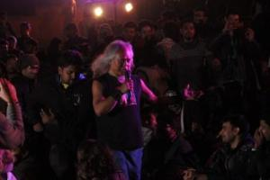 Iconic singer from Shillong  Lou Majaw performs in  Jamia