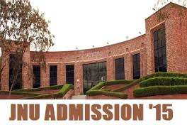 JNU Admission Announcement 2015 -16
