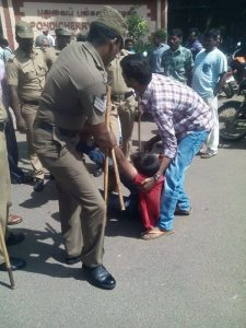 Over 25 students and faculty members  have been arrested by the police in Pondicherry University