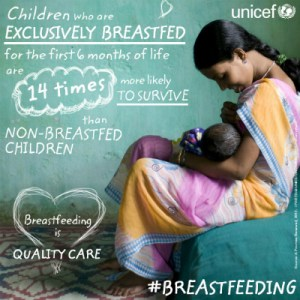 THE BREAST-FEEDING WEEK