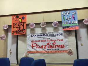 "Lakshmibai College successfully concluded their Philosophy Fest ""PRATIBIMB"""