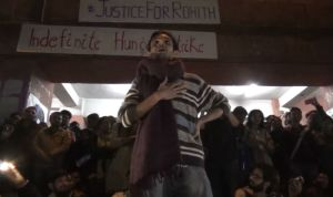 JNU Incident: Umar Khalid returns to JNU campus, delivers powerful speech