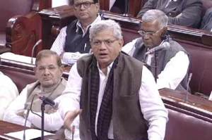 """Every single institution has been made on the Act of Parliament"" -Sitaram Yechury."