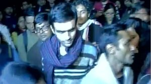 JNU incident: Umar Khalid, Anirban Bhattacharya surrender before Delhi Police