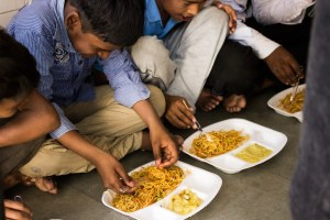 A Plate of Joy: initiative of students to teach and feed the children