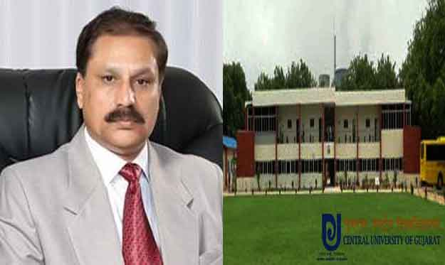 Serious allegations of corruption on Vice-Chancellor of Central University of Gujarat; appointed his wife as professor