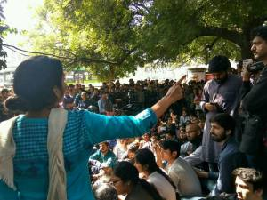 """Ramjas violence example of state-backed intolerance"" : CPI-M;  Delhi Union of Journalists condemns attacks on media, students"