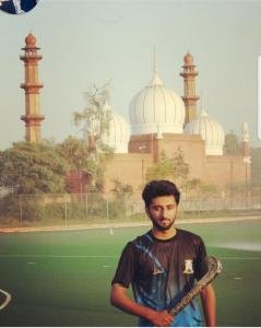 AMU student to play for Uttar Pradesh Hockey team in Indian Hockey Federation (IHF) National tournament
