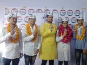 AAP Backed CYSS surprises everyone in Rajsthan Students' Union Elections; Wins 50 seats