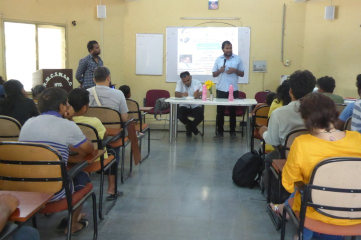 """TISS, Hyderabad Students organizes a Lecture on """"Ambedkar and Nation"""""""