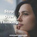 क्या आप Overthinking के शिकार तो नहीं हैं? | Health Tips