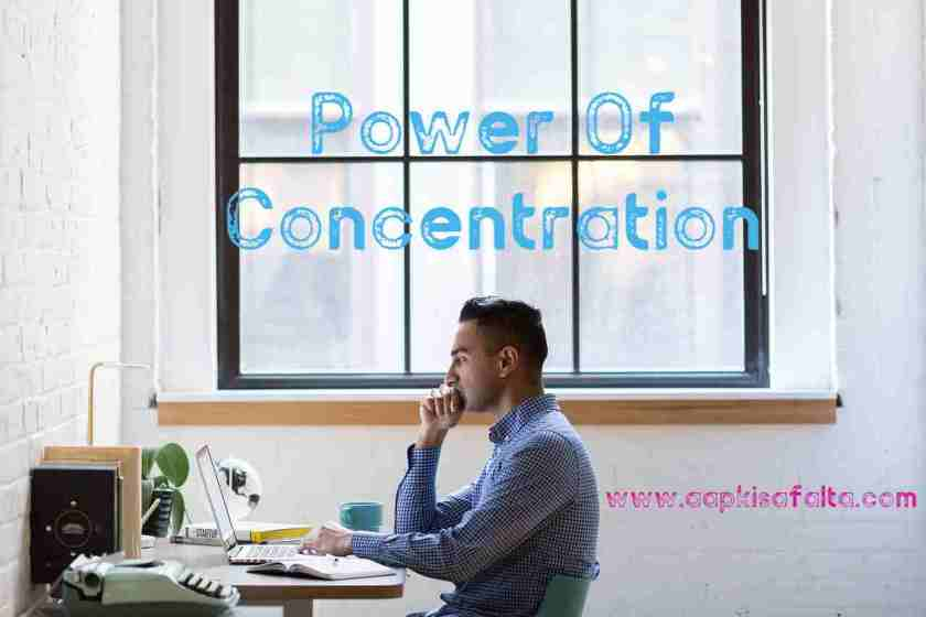 power of concentration hindi