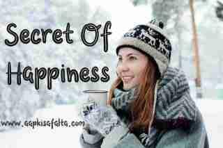 secret of happiness hindi