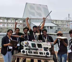 आईआईटी बॉम्बे के छात्रों के साथ बिहार का अंशुमन