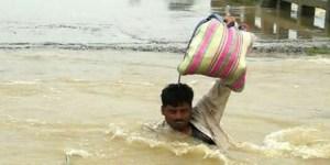 बाढ़ के प्रकोप से त्राहि-त्राहि हुआ बिहार, मुख्यमंत्री ने कहा जिंदगी में पहले कभी ऐसी बाढ़ नहीं देखा